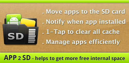 App 2 SD Pro (move apps to SD) v2.55