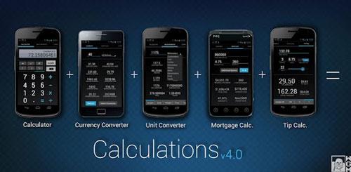 Calculations 4.0 Pro v1.2.8