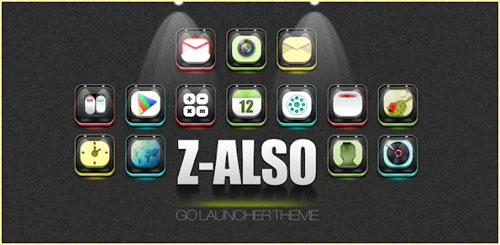 ZAlso GO Launcher Theme v1.0