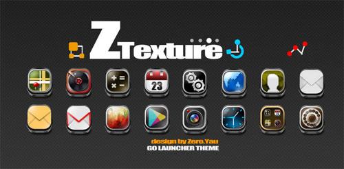 ZTexture GO Launcher Theme v1.2