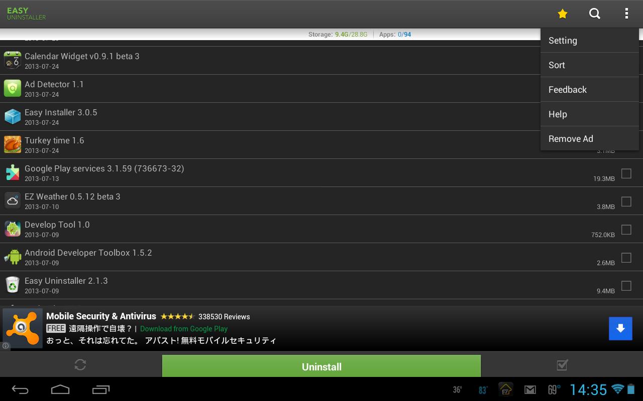 Easy Uninstaller App Uninstall v3.2.0