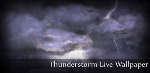 Thunderstorm Live Wallpaper v2.1