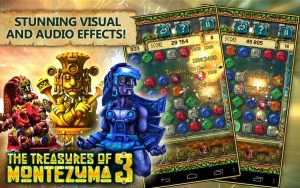 تصویر محیط Treasures of Montezuma 3. True Match-3 Game v1.3.0