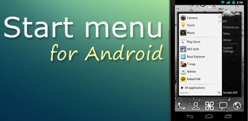 Start menu for Android v1.1.1