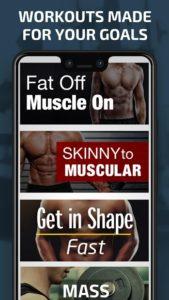 تصویر محیط Gym Workout Planner – Weightlifting plans v4.301