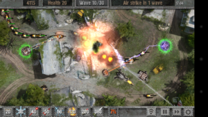 تصویر محیط Defense zone 2 HD v1.6.2 + data