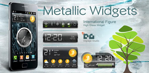 HD Metallic Widgets v1.0