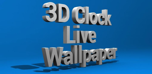 3D Clock Live Wallpaper v1.1