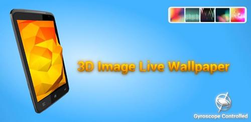 3D Image Live Wallpaper v1.0.1