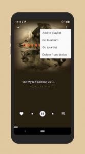 تصویر محیط Pix Music Player Plus v1.0.0