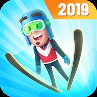 بازی اسکی کردن و پریدن از ارتفاع آیکون