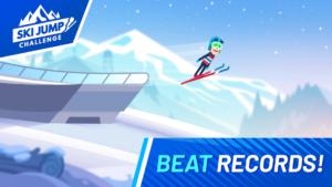 تصویر محیط Ski Jump Challenge v1.0.34