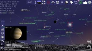 تصویر محیط Mobile Observatory – Astronomy v3.0.11