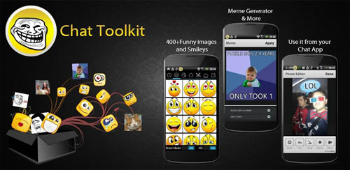 Chat Toolkit (smileys, memes) v1.0