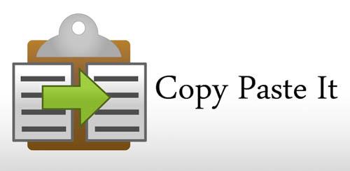 Copy Paste It