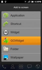 GO Switch Widget6