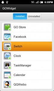 GO Switch Widget7