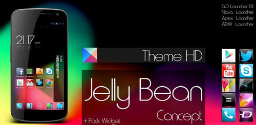 Jelly Bean HD Theme 5 in 1 v2.2