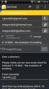 K-10 Mail Pro 7