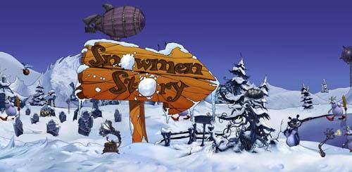 Snowmen Story Dark Side