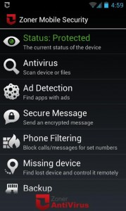 Zoner Mobile Security2