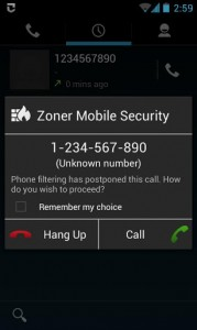 Zoner Mobile Security4