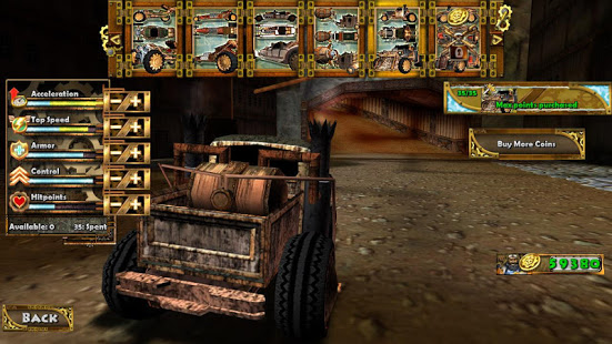 Steampunk Racing 3D v2.6