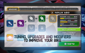 تصویر محیط Drag Racing: Bike Edition v2.0.2