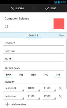 Timetable v6.3