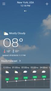 تصویر محیط Weather Live Pro v1.9
