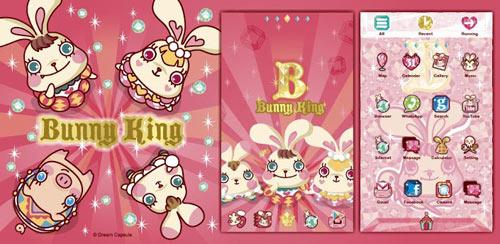 Bunny King GO Launcher theme v1.0