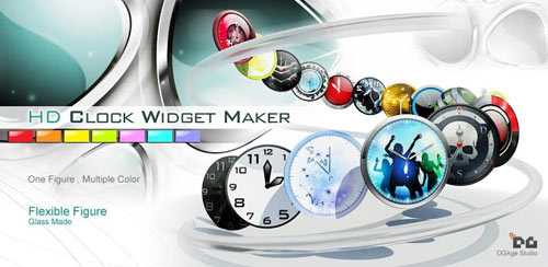 HD Beautiful Clock Widgets Pro v1.3 HD
