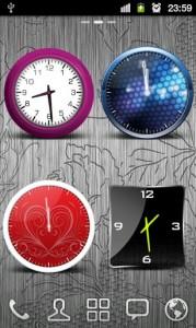 HD Beautiful Clock Widgets Pro2
