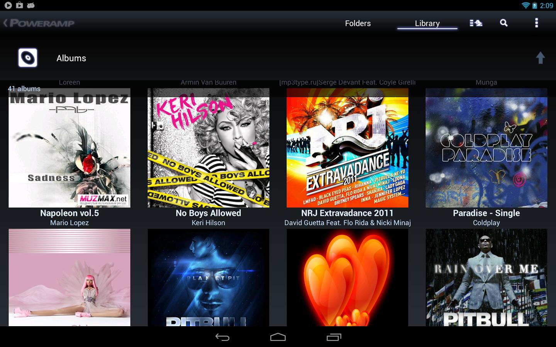 Poweramp Music Player v3 alpha build 704