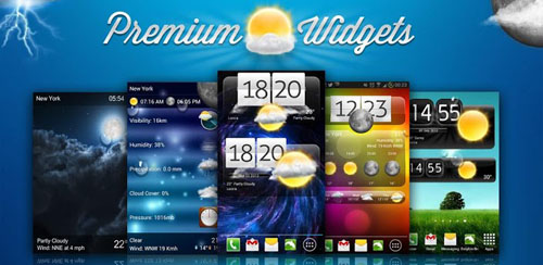 Premium Widgets & Weather v1.3.2