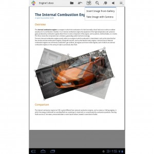 Quickoffice Pro HD for Tablets 2