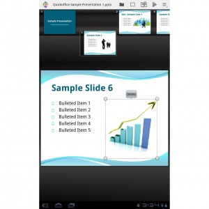 Quickoffice Pro HD for Tablets 3