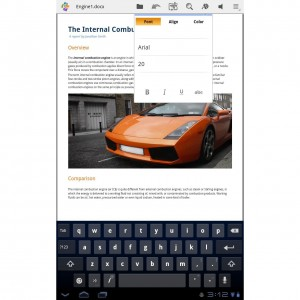 Quickoffice Pro HD for Tablets 6