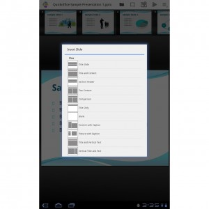 Quickoffice Pro HD for Tablets 7