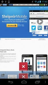 Sleipnir Mobile - Web Browser2