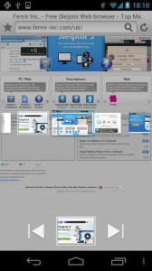 Sleipnir Mobile - Web Browser4