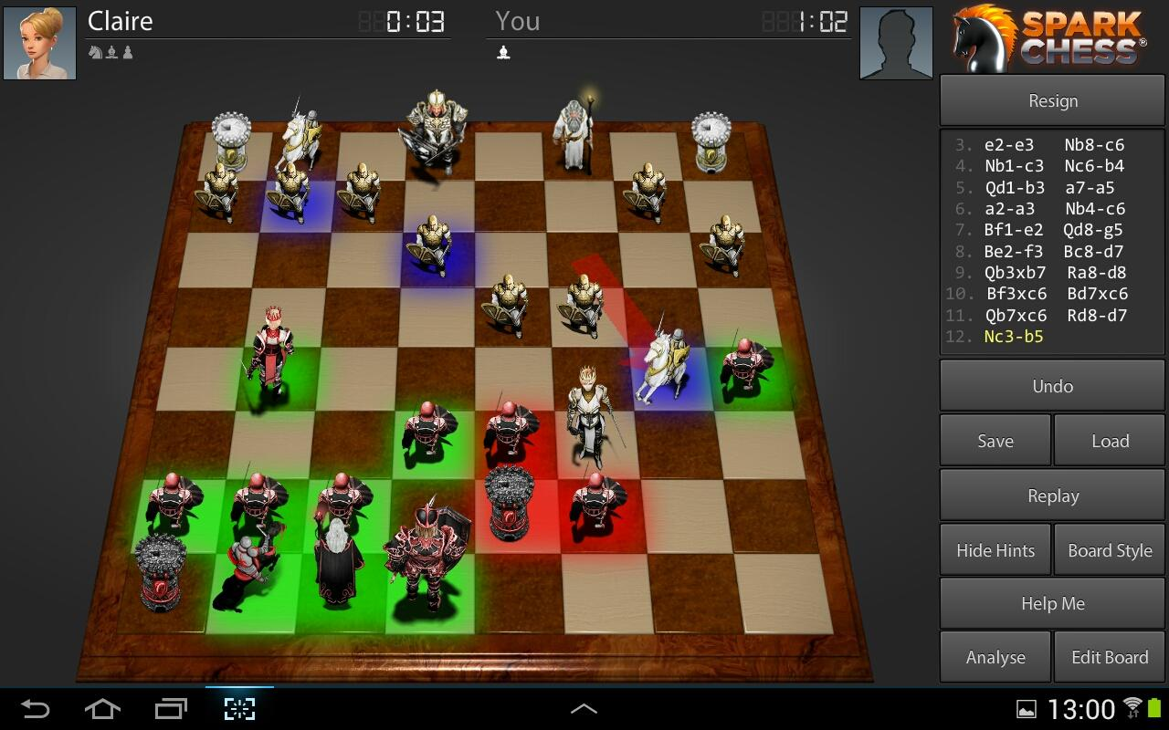 SparkChess HD v11.2.6