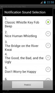 Whistle Android Finder PRO 5
