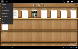 تصویر محیط EBookDroid – PDF & DJVU Reader v2.6.3
