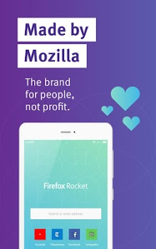 Firefox Rocket – Fast and Lightweight Web Browser v2.1.1