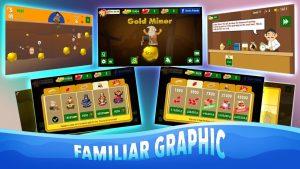 تصویر محیط Gold Miner Classic v2.6.17