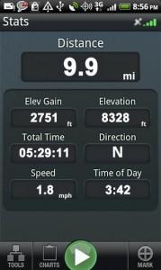 Backpacker GPS Trails Pro 3