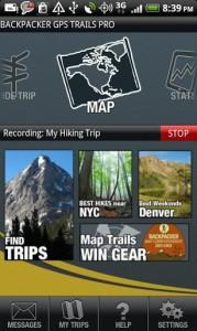 Backpacker GPS Trails Pro 5