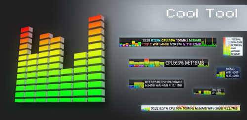 Cool Tool – system stats v4.1.1