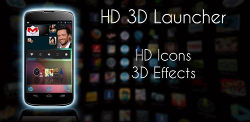 HD 3D Launcher PRO v1.1.1